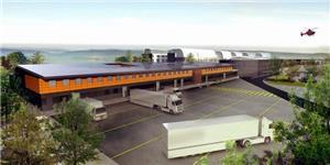 CCTV logistics center closed monitoring project
